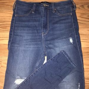 Ultra High Rise Hollister Jeans